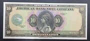 American Banknote Company Engraved Specimen Sales Note