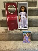 American Girl 18 Doll Retired Felicity Travel Gown Display Only In Box