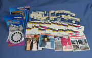 Lot Of 100 Vintage 3d View Master Reels Very Good Condition