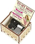 Music Box For Mom Gift Son Daughter Mom Music Box Birthday Mother Day Christmas
