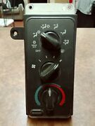 1998 Only Dodge Ram Manual Climate Control Switch With Mirror Defrost Oem