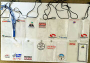 Indy Car Team Pass Holders Many Years .