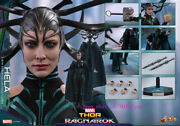 Perfect Hot Toys - Mms449 - Thor Ragnarok - 1/6th Scale Hela Action Figure Toy