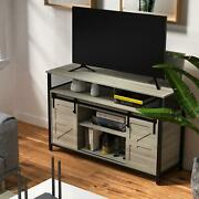 Retro Style Tv Cabinet Bracket Central Space Can Be Stored Cabinet With Drawer