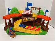 Mattel Fisher Price Little People Klip Klop Arena Mike The Knight Complete