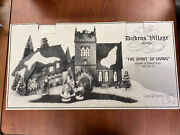 Dept 56 Set Of 13 Sudbury Church, Old East Rectory, Spirit Of Giving 56.58322