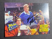 Nick Nolte Signed Blue Chips Card Coa And Mystery Gift 066
