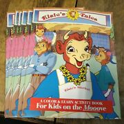 6--vintage Bordens Elsie's Tale Coloring/activity Books--never Used--nos