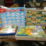 Lot Of Childrens Educational Games And Puzzles--all New In The Original Packaging