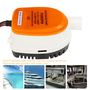 750gph 12v Dc Large Flow Electric Submersible Extremely Efficient Bilge Pump Usa