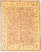 Hand-knotted Carpet 8'1 X 10'3 Bordered, Floral, Traditional Wool Rug
