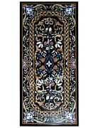 30 X 60 Dining Table Top Pietra Dura Art Marble Table From Cottage Handicrafts