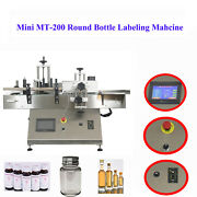 Mt-130 Automatic Horizontal Packaging Label Applicator Round Bottle Sticker