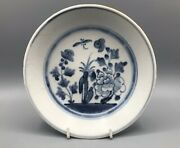 Tek Sing Chinese Shipwreck Cargo Butterfly And Peony Dish