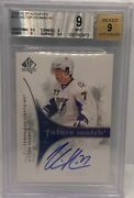2009-10 Sp Authentic Future Watch Auto Victor Hedman Rc 'd 77/999 Jersey 1/1