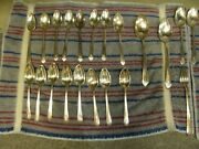 4926 1 Set 49 Pieces Antique Wm Rogers Sectional Is Silver Plated Silverware