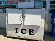 Used Convenience Store 100 Ice Bag Freezer