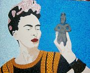Frieda With Stature X 20 Acrylic On Board By Michael Byro