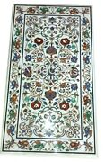 Marble Dining Table Top Pietra Dura Art Elegant Center Table 30 X 60 Inches