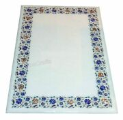30x60 Inch Marble Hallway Table Top Mosaic Art Dining Table Top For Living Room