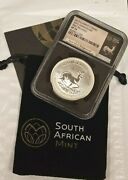 2017 South Africa 1 Rand Ngc Sp70 First Releases Krugerrand 50th Anniv Ngc K827