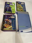 Leapfrog Quantum Leap Pad Learning System W3 Books Cartridges Tested