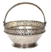 1878s St Petersburg Antique Imperial Russian Sterling Silver 84 / 875 Candy Bowl