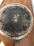 Griswold 80 Cast Iron Double Skillet Top 1103 And Bottom 1102 Large Block