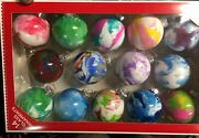 Hand Painted Glass Orbs Made By A Sf Artist Christmas Ornaments Priced 2 Sell