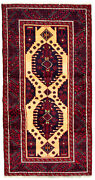 Vintage Hand-knotted Carpet 3and0393 X 6and0395 Traditional Oriental Wool Area Rug