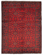 Hand-knotted Tribal Carpet 5and0391 X 6and0396 Traditional Vintage Wool Rug