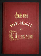 Album Scenic Made In West Germany Emile And Aldolphe Rouargue Xixeme,44 Prints