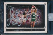 2019-20 Panini One And One Larry Bird Timeless Moments Auto Autograph 16/25