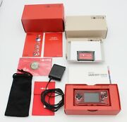 Nintendo Gameboy Micro Console Mother 3 Red Deluxe Box Limited Gbm Japan Exc.