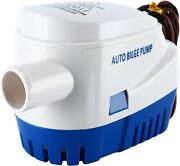 Automatic Submersible Boat Bilge Water Pump With Auto Float Switch12v1100gph