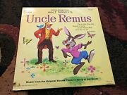 1963 Walt Disney Uncle Remus Song Of The South Lp Record Soundtrack Dq-1205