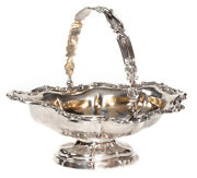 1854 Antique Imperial Russia Moscow Silver 84 Candy Bowl By Andrey Kovalsky 312g
