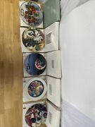 Lot Of 5 Avon Christmas Plate Series 1991 1994 1998 1999 2000 Holiday Plates