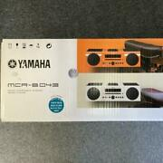 New Yamaha Mcr-b043 Micro Component System Limited Color Right Blue From Japan