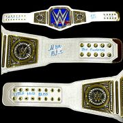 Wwe Alexa Bliss Hand Signed Inscribed Smackdown Womens Adult Belt With Proof Coa