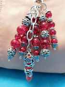 Handmade Purse Keyfob Charms Keychain 4 Coach And Other Designer Purses Red Lover