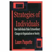 The Strategies Of Individuals - Hardback New Laure Paquette 2002-12-01