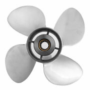 Boat Outboard Propeller 4 Blades 15t Fit For Df70a‑140a 4‑1/4in Gearcase