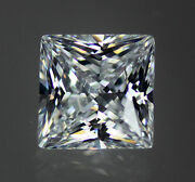 White / Clear Aaaaaa 53+ Facet Square Princess Cut Cubic Zirconia Cz 6-20mm