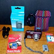 Nikon Coolpix S4100 - 14mp 720p Hd Digital Camera - W/sd, Charger And Batteries