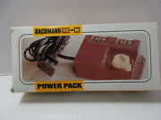 Vintage Bachmann Ho And N Electric Power Pack Train Transformer Model 6605