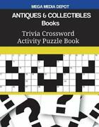 Antiques And Collectibles Books Trivia Crossword Activity Puzzle Book By Mega De