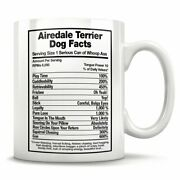 Airedale Terrier Dog Facts Airedale Terrier Mug Airedale Terrier Dad Airedale