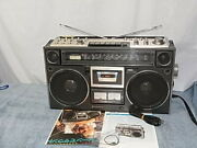 Vintage Sanyo M9994 Boombox Works Great Maintained Rare