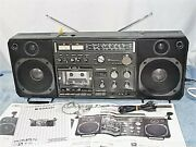 Boombox Sanyo M9998 Vintage Excellent Condition Maintained Rare